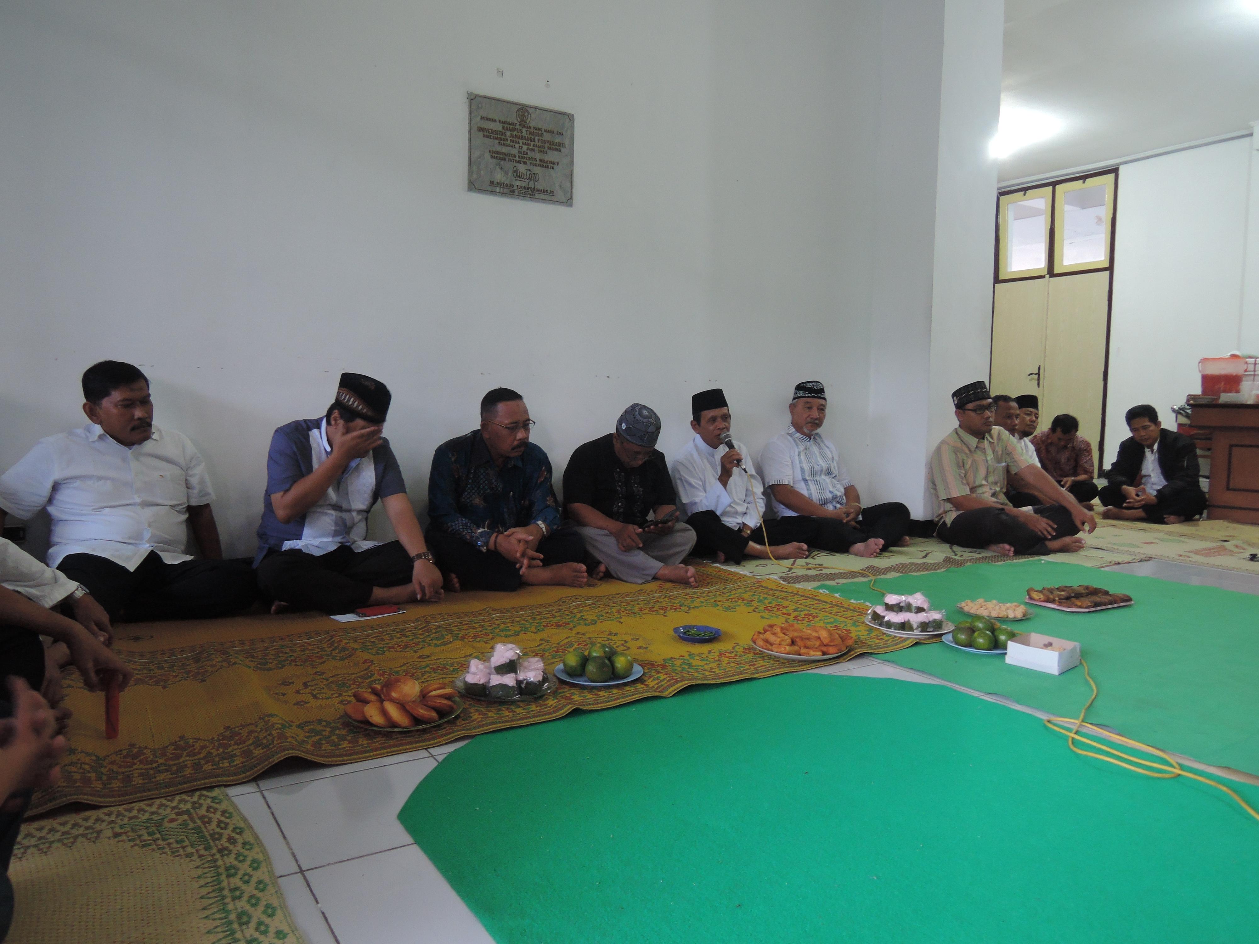 Buka Bersama Fakultas Hukum Universitas Janadara 1437H
