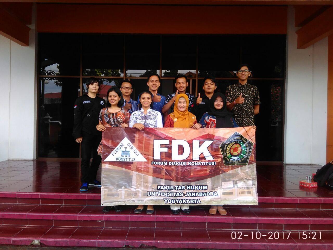 Fakultas Hukum membentuk Forum Diskusi Konstitusi (FDK)
