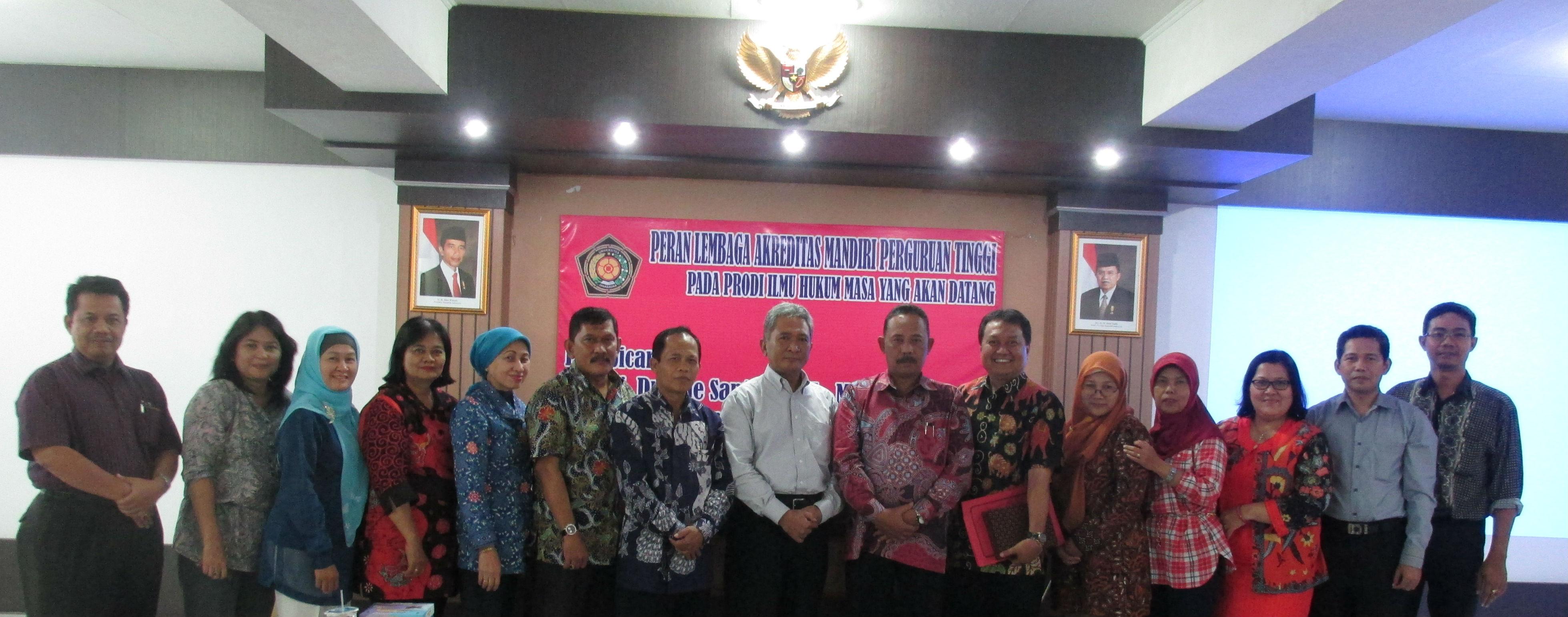 Diskusi LAM PT Hukum Indonesia