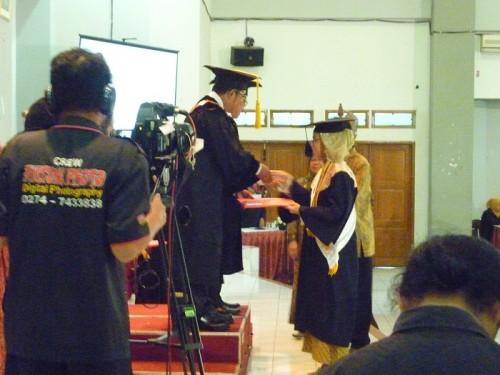 Wisuda UJB Semester Gasal 2014/2015