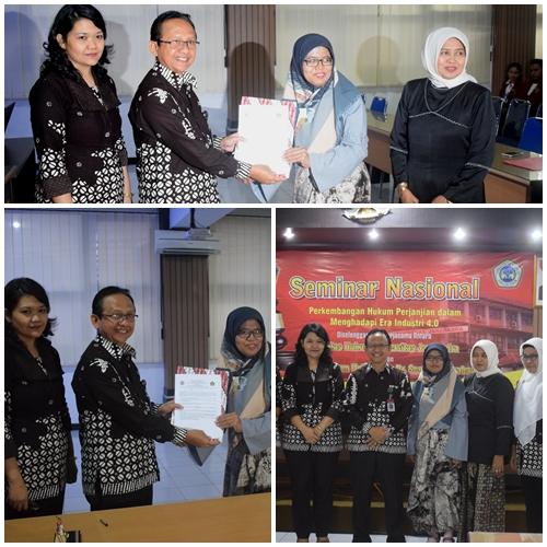 Penandatanganan MOU bersama Universitas Dr. Soetomo Surabaya